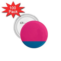 Flag Color Pink Blue 1 75  Buttons (100 Pack)