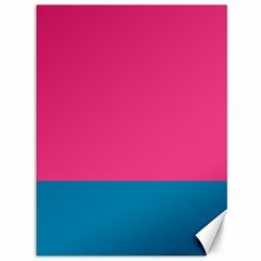 Flag Color Pink Blue Canvas 36  X 48