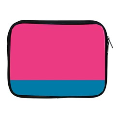 Flag Color Pink Blue Apple iPad 2/3/4 Zipper Cases