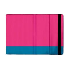 Flag Color Pink Blue iPad Mini 2 Flip Cases