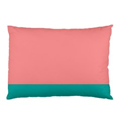 Flag Color Pink Blue Line Pillow Case