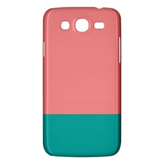 Flag Color Pink Blue Line Samsung Galaxy Mega 5.8 I9152 Hardshell Case
