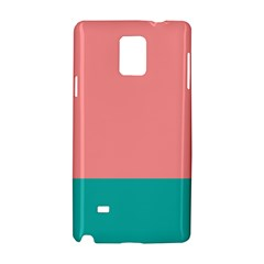 Flag Color Pink Blue Line Samsung Galaxy Note 4 Hardshell Case