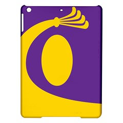 Flag Purple Yellow Circle iPad Air Hardshell Cases