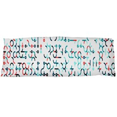 Connect Dots Color Rainbow Blue Red Circle Line Body Pillow Case Dakimakura (Two Sides)