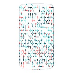Connect Dots Color Rainbow Blue Red Circle Line Samsung Galaxy Mega I9200 Hardshell Back Case