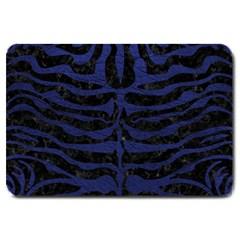 SKN2 BK-MRBL BL-LTHR Large Doormat