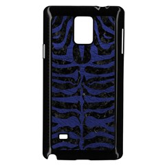 SKN2 BK-MRBL BL-LTHR Samsung Galaxy Note 4 Case (Black)