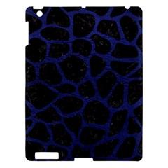 SKN1 BK-MRBL BL-LTHR (R) Apple iPad 3/4 Hardshell Case