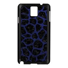 SKN1 BK-MRBL BL-LTHR (R) Samsung Galaxy Note 3 N9005 Case (Black)