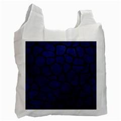 SKN1 BK-MRBL BL-LTHR Recycle Bag (Two Side)