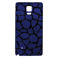 SKN1 BK-MRBL BL-LTHR Galaxy Note 4 Back Case