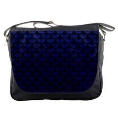 SCA3 BK-MRBL BL-LTHR (R) Messenger Bags
