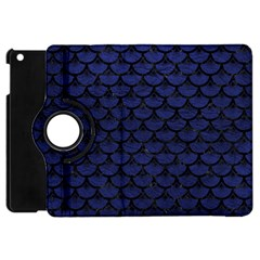 SCA3 BK-MRBL BL-LTHR (R) Apple iPad Mini Flip 360 Case