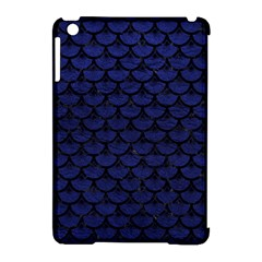 SCA3 BK-MRBL BL-LTHR (R) Apple iPad Mini Hardshell Case (Compatible with Smart Cover)