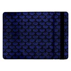 SCA3 BK-MRBL BL-LTHR (R) Samsung Galaxy Tab Pro 12.2  Flip Case