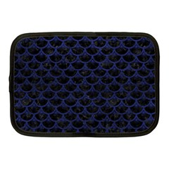 SCA3 BK-MRBL BL-LTHR Netbook Case (Medium)
