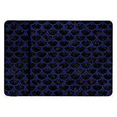 SCA3 BK-MRBL BL-LTHR Samsung Galaxy Tab 8.9  P7300 Flip Case