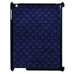 SCA2 BK-MRBL BL-LTHR (R) Apple iPad 2 Case (Black)