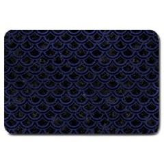 SCA2 BK-MRBL BL-LTHR Large Doormat