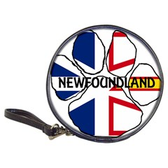 Newfoundland And Labrador Flag Name Paw Classic 20-CD Wallets