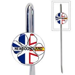 Newfoundland And Labrador Flag Name Paw Book Mark