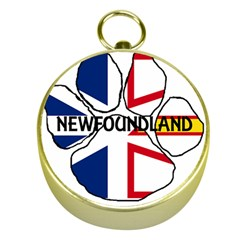 Newfoundland And Labrador Flag Name Paw Gold Compasses