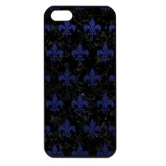 RYL1 BK-MRBL BL-LTHR (R) Apple iPhone 5 Seamless Case (Black)