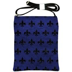 RYL1 BK-MRBL BL-LTHR Shoulder Sling Bags