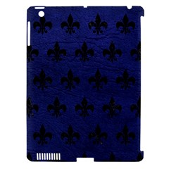 RYL1 BK-MRBL BL-LTHR Apple iPad 3/4 Hardshell Case (Compatible with Smart Cover)