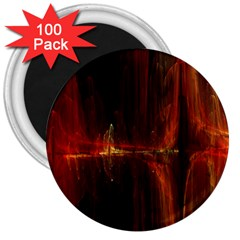 The Burning Of A Bridge 3  Magnets (100 pack)