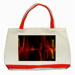 The Burning Of A Bridge Classic Tote Bag (Red)