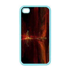 The Burning Of A Bridge Apple iPhone 4 Case (Color)