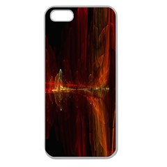 The Burning Of A Bridge Apple Seamless iPhone 5 Case (Clear)