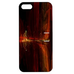 The Burning Of A Bridge Apple iPhone 5 Hardshell Case with Stand