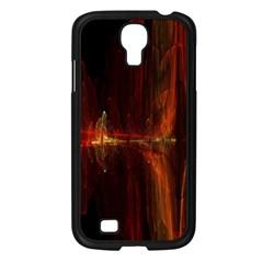 The Burning Of A Bridge Samsung Galaxy S4 I9500/ I9505 Case (Black)