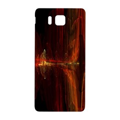 The Burning Of A Bridge Samsung Galaxy Alpha Hardshell Back Case