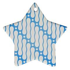 Batik Pattern Ornament (star)