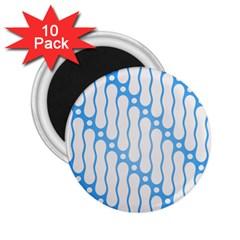 Batik Pattern 2.25  Magnets (10 pack)