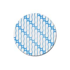 Batik Pattern Magnet 3  (Round)