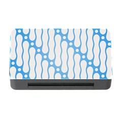 Batik Pattern Memory Card Reader with CF