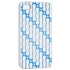Batik Pattern Apple iPhone 4/4s Seamless Case (White)