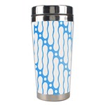 Batik Pattern Stainless Steel Travel Tumblers Left