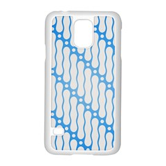 Batik Pattern Samsung Galaxy S5 Case (White)
