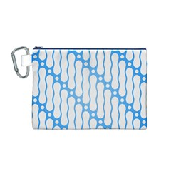 Batik Pattern Canvas Cosmetic Bag (M)