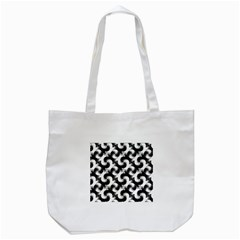 Birds Flock Together Tote Bag (White)