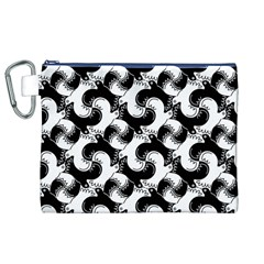 Birds Flock Together Canvas Cosmetic Bag (XL)