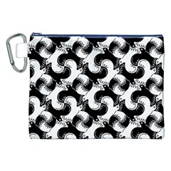 Birds Flock Together Canvas Cosmetic Bag (XXL)