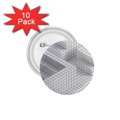 Design Grafis Pattern 1.75  Buttons (10 pack)