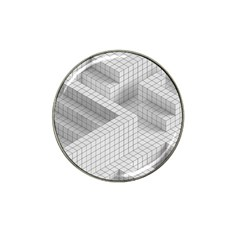 Design Grafis Pattern Hat Clip Ball Marker (10 Pack)